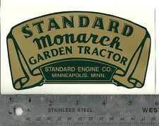 Standard Monarch Decal, Self-Adhesive, Reproduction