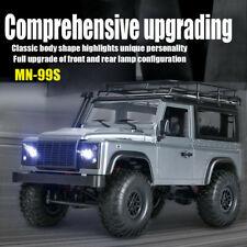 MN 99s 2,4G 1/12 4WD RTR Crawler RC Auto Geländewagen Land Rover Fahrzeug Modell
