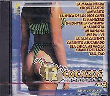 Jlb y Cia Los Reyes Locos Kanon Beto Billa 12 Cocazos Tropicales Vol 2 CD New