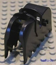 LEGO Ritter - Pferdedecke schwarz mit 2 Clips OHNE Aufdruck / 2490 NEUWARE (L11)