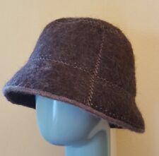 9c32591f7f0 Brown Icelandic Nordic Wool Hat Ladies Cap Women s Winter Accessory
