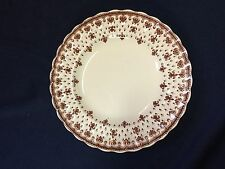 "Spode Fleur de Lis Brown 7 3/4"" plate - sold individually"