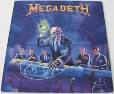 MEGADETH - Rust In Peace [Vinyl LP,1990] UK Import EST 2132 Thrash Metal *EXC