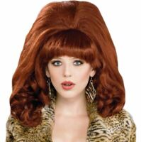 Adult Women/'s Auburn Trailer Park Peggy Wig and Leopard Top Costume Set