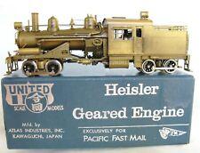 Heisler 90-ton Late Run by PFM Excellent Condition Good-Runner Brass