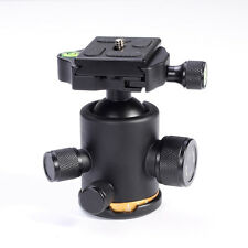 "12Kg Metal 360 Degree Tripod Ball Head 1/4"" Quick Release Plate for DSLR Camera"