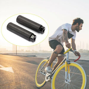 Aluminum Alloy Grooves Stunt Pegs Bike Axle Pedal Bicycle Parts Bike Pegs
