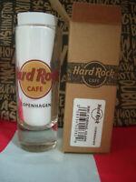 HRC Hard Rock Cafe Copenhagen Shot Glass Shotglass Classic Logo New Style 2019