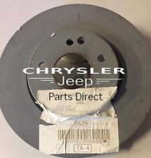 NEW CHRYSLER CROSSFIRE FR. BRAKE DISCS  05098064AB 03-08  also fits MERC SLK