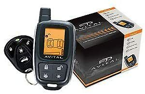 Avital 2-Way LCD Security System 3305L
