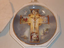Assiette teller BARZONI the life of JESUS CHRIST croix ROYAL DOULTON croce JC st