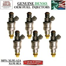 Genuine Fuel Injectors 6_piece Fits _98-99-00 Mazda B3000 3.0L V6 Denso XL5E-B2A