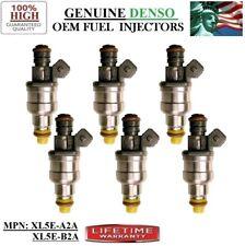 Genuine Fuel Injectors 6_piece Fits _98-99-00 Mazda B3000 3.0L V6 Denso XL5E-B2A