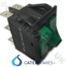 16amp Verde Twin Single 3 Pin Interruptor 30x22mm 230v On/off Power Switch