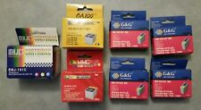Lot of 7 - Epson Stylus Color & Black Ink Cartridges 440 640 740 new / expired