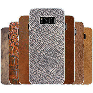 Dessana Leather Pattern Silicone Protective Cover Phone Case for Samsung Galaxy