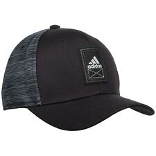 Men's Adidas Alliance Black / Grey Baseball Cap - Adjustable