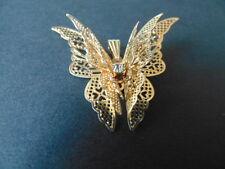 Schmetterling Anhänger Gold  Neu Top