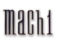 Mustang Trunk Emblem Mach 1 Set 1970 - Scott Drake