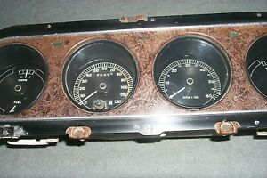Deluxe Tachometer Gauge Cluster 1969/69 Mercury Cougar XR-7 351/390/428 CJ Ford