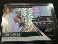 SAM DARNOLD 2018 PANINI UNPARALLELED #206 ROOKIE FLIGHT