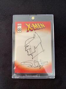 2001 Topps Marvel Legends Custom Cover Chase - Sean Chen X-Men (Wolverine)