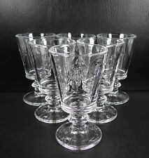 Amici Bee Dillards Set of 6 Goblets Glasses Multiple Sets Available