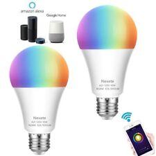 WiFi Smart LED Light Bulb for A21 RGB Dimmable Alexa Google Home App Control