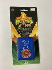 MIGHTY MORPHIN POWER RANGERS BEEPER NEW SEALED 3 FUNCTION BLUE 1993!
