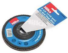 115mm Round Sander 40 flapper disc course Grit Sanding flap mini grinder 4 1/2""