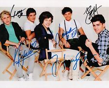 One Direction #2  8 x 10 Autograph Reprint  Niall Horan Liam Payne  Harry Styles