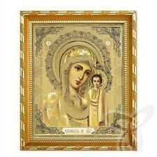 Ikone GM von Kazan Holz 21x18 K Казанская Богородица икона 5