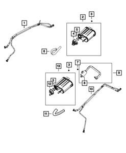 Genuine  Evaporative System Integrity Module Detector 4861963AC