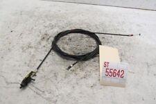 2000 MAZDA MIATA MX-5 FUEL DOOR TRUNK LID OPENER LEVER CABLE LINE OEM 15156