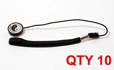 10 qty Lens Cap Cover Holder Keeper Leash Strap Rope For Canon Nikon Sony Camera