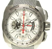 REBELLION Wraith Drive Chronograph Silver Dial Automatic Men's Watch(a)_537933