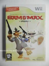 Jeu SAM ET & MAX SAISON 1 sur nintendo WII en francais and game spiel gioco =#1