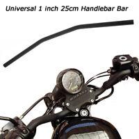 1'' 25MM Black Drag Style Bar Handlebars For Harley Honda Kawasaki Suzuki Yamaha