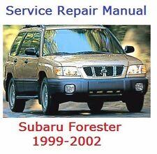 SUBARU FORESTER 1999-2002  WIRING DAGRAM +SERVICE REPAIR MANUAL +  Fast Send