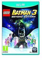 LEGO Batman 3: Beyond Gotham (Nintendo Wii U, 2014) CHEAP PRICE AND FREE POSTAGE