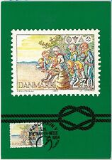 57184 -  DENMARK - POSTAL HISTORY: MAXIMUM CARD 1984 - BOY SCOUTS