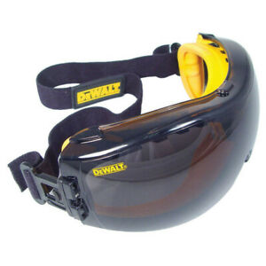Dewalt DPG82-21 Concealer Smoke Anti-Fog Dual Mold Safety Goggle