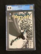 Batman #44 2015 CGC 9.8 New 52 Jock Origin Bloom Dc Comics