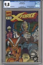 X-FORCE #1 CGC 9.8 WHITE PGS POLY-BAG REMOVED UPC +&- ROB LIEFELD 1991