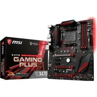 MSI X470 GAMING PLUS Desktop Motherboard - AMD Chipset - Socket AM4 (x470gplus)