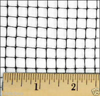 28'x28' Net/Netting for Aviary/Game/Bird/Poultry/Pens-dove-fowl-pen-plastic-3/8""