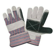 72 PAIR DOUBLE PALM SHOULDER SPLIT LEATHER WORK GLOVES LARGE L