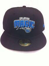 Authentic New Era Orlando Magic Team Cap Basketball Hat Nba NBA Fitted 7 1/8 New