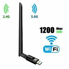 WLAN Repeater 1200Mbit/s Signal Verstärker Access Adapter WiFi Booster 2.4 &5GHz