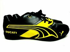 PUMA Penigale II DUCATI Sneakers Shoes Black Yellow Silver Size 9.5